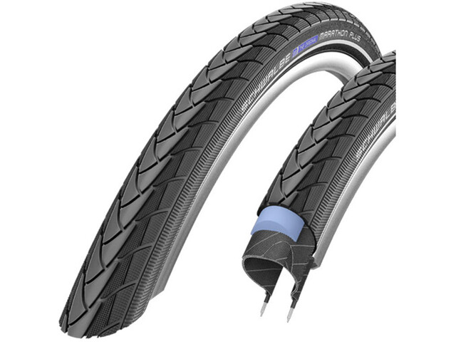 "SCHWALBE Marathon Plus Band Performance 27.5"" draadband, black-reflex"